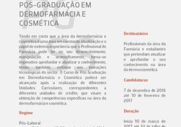 Pós-Graduação em Dermofarmácia e Cosmética – ESS