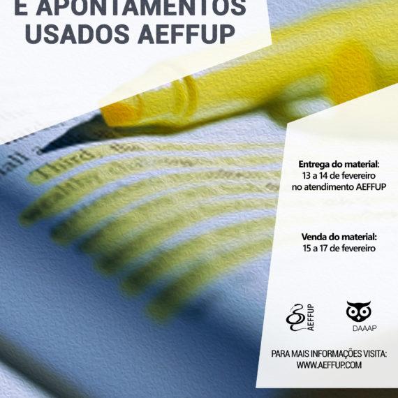 Feira de Livros e Apontamentos Usados AEFFUP