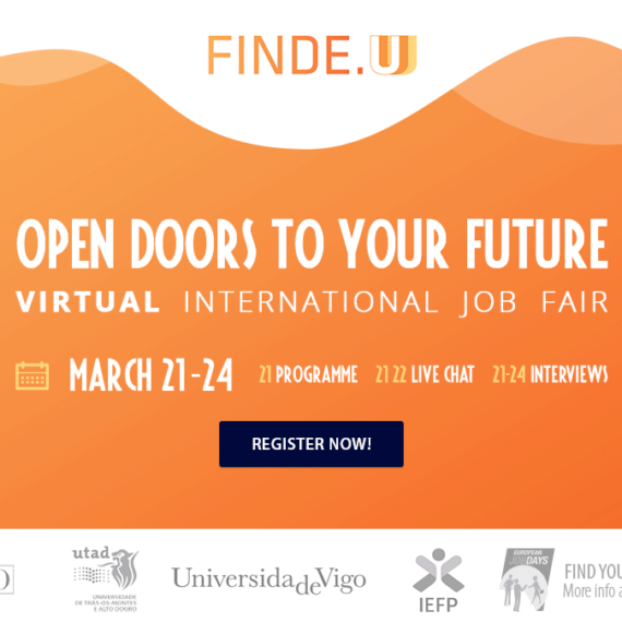 Feira Internacional de Emprego Virtual Universitário – FINDE.U – Abre as portas ao teu futuro