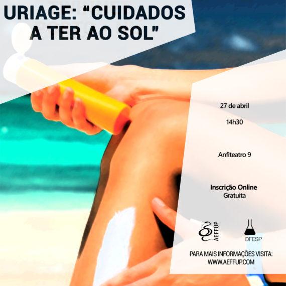 """Projeto Escolas Uriage: """"Cuidados a Ter ao Sol""""."""