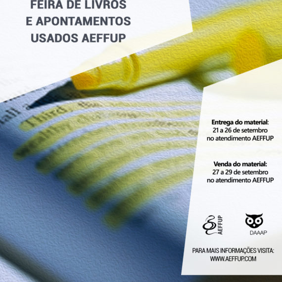 II FLAUA – Feira de Livros e Apontamentos Usados AEFFUP