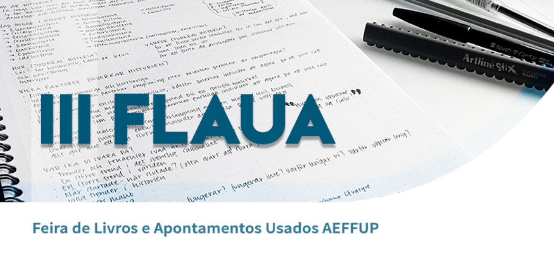 III FLAUA – Feira de Livros e Apontamentos Usados AEFFUP