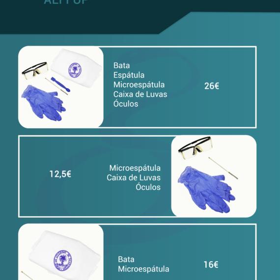 Kits de laboratório AEFFUP
