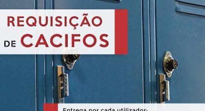 Requisição de Cacifos para o Ano Letivo 2019/2020