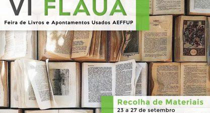 VI FLAUA – VI Feira de Livros e Apontamentos Usados AEFFUP
