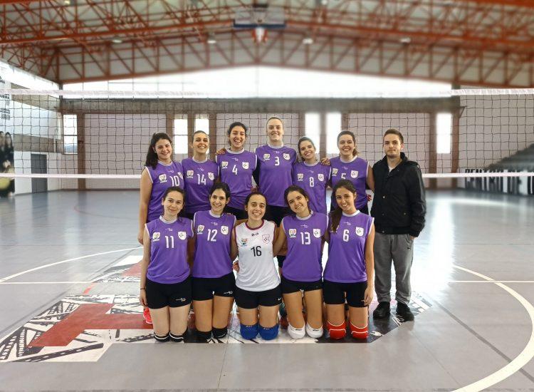 Equipa de Voleibol Feminino 2019/2020